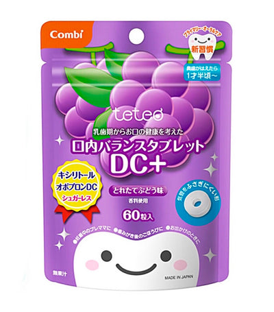 combi teteo oral balance tablet dc+ - grape