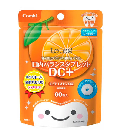 combi teteo oral balance tablet dc+ - orange