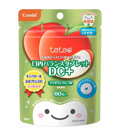 combi teteo oral balance tablet dc+ - apple