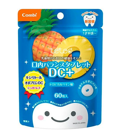 combi teteo oral balance tablet dc+ - pineapple