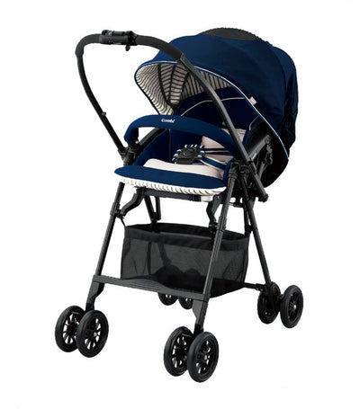 combi navy mechacal handy 2 cas stroller