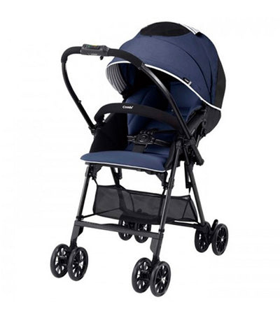 combi navy mechacal handy s stroller