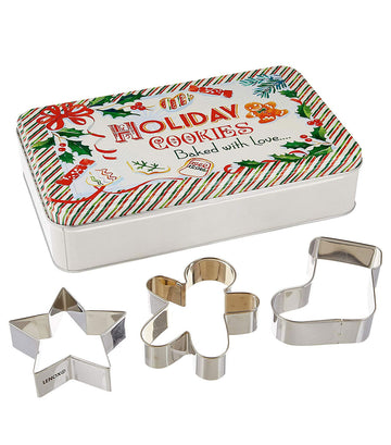 Christmas Cookie Cutters Set