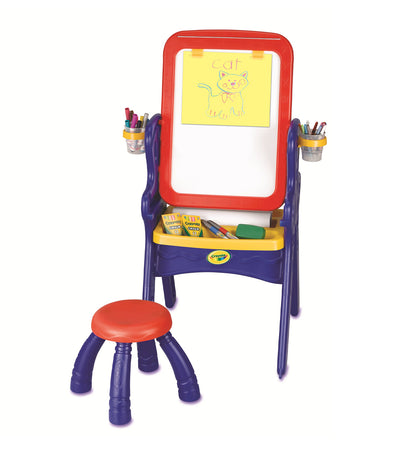 crayola qwikflip easel to desk
