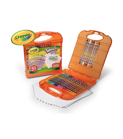 crayola twistables colored pencil and paper set