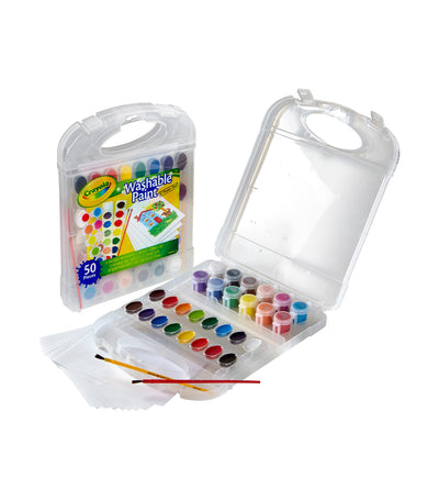 crayola washable paint and paper set