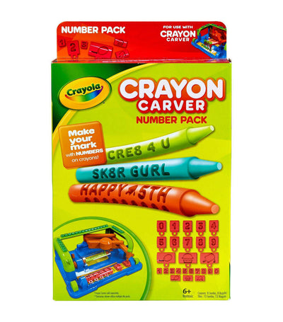 crayola crayon carver numbers expansion pack