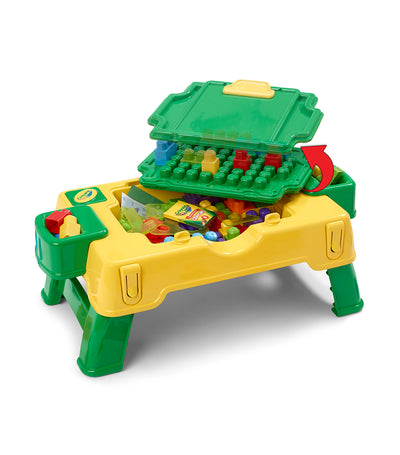 crayola build and draw activity table (40-piece)