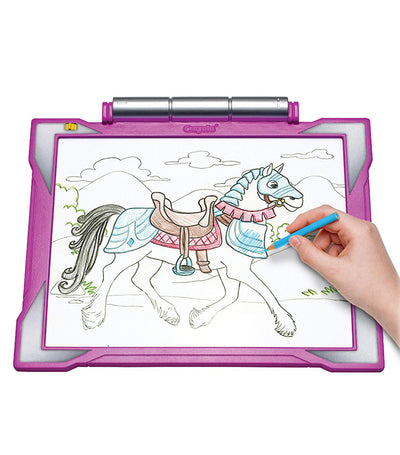 crayola light up tracing pad fashion