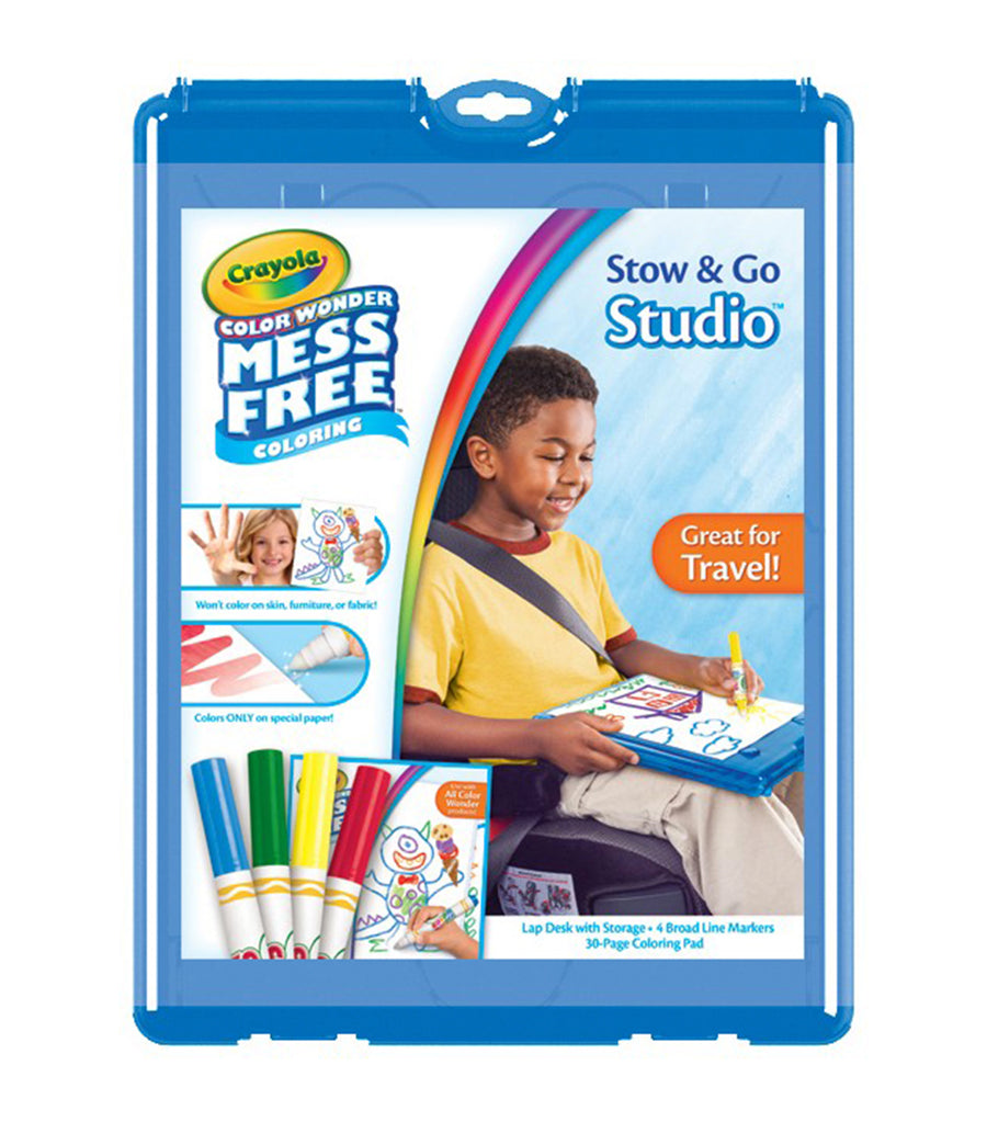 crayola color wonder stow and go studio refresh