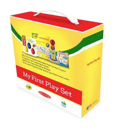 crayola my first play gift set