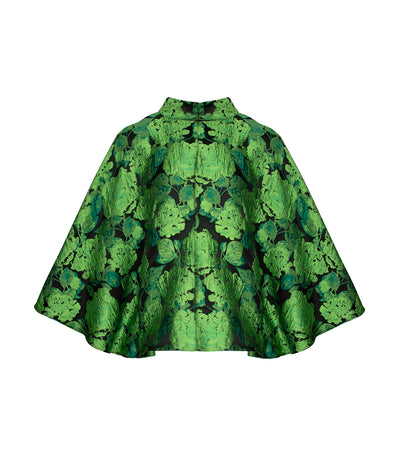 criselda beatrice blouse green