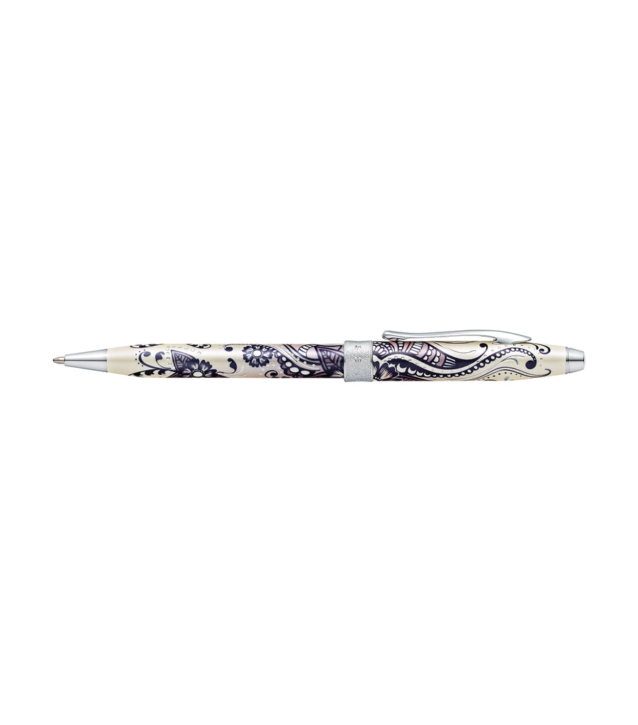 cross botanica purple orchid ballpoint pen