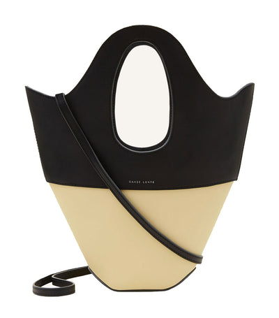 danse lente small tote black and sawdust