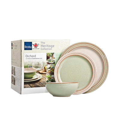 denby heritage orchard 12-piece tableware set