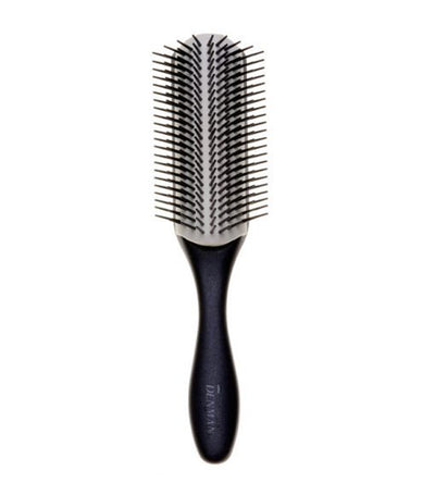 denman d-4n noir large 9-row styling brush