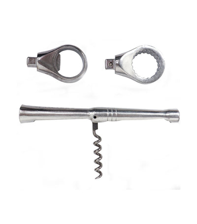 discovery shop imported barbuzzo 'the ratchet gadget' bar tool
