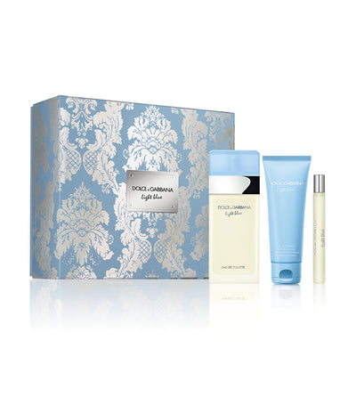 dolce&gabbana light blue trio set