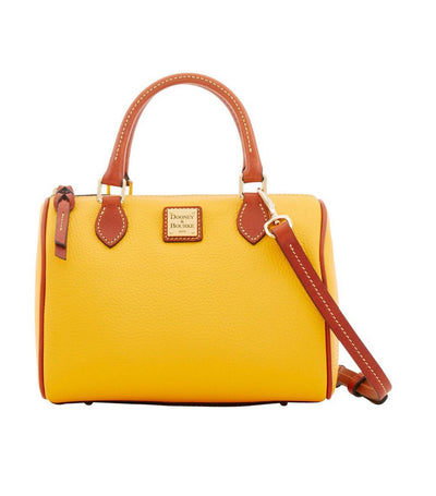 dooney & bourke pebble grain trudy satchel dandelion