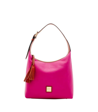 dooney & bourke pebble grain paige sac magenta