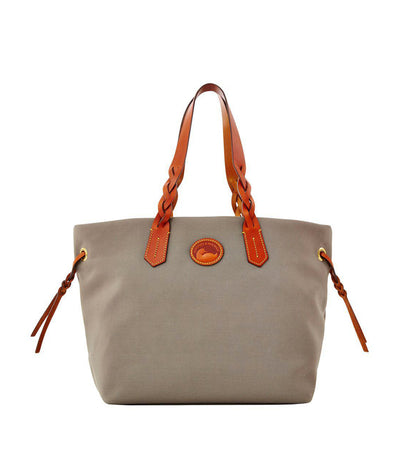 dooney & bourke shopper nylon tote gray
