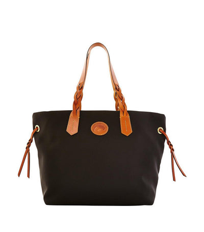 dooney & bourke nylon shopper tote black