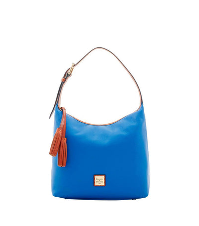 dooney & bourke pebble grain paige sac french blue
