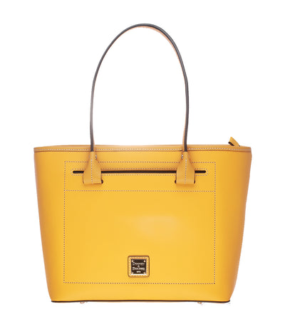 dooney & bourke beacon slip tote dandelion