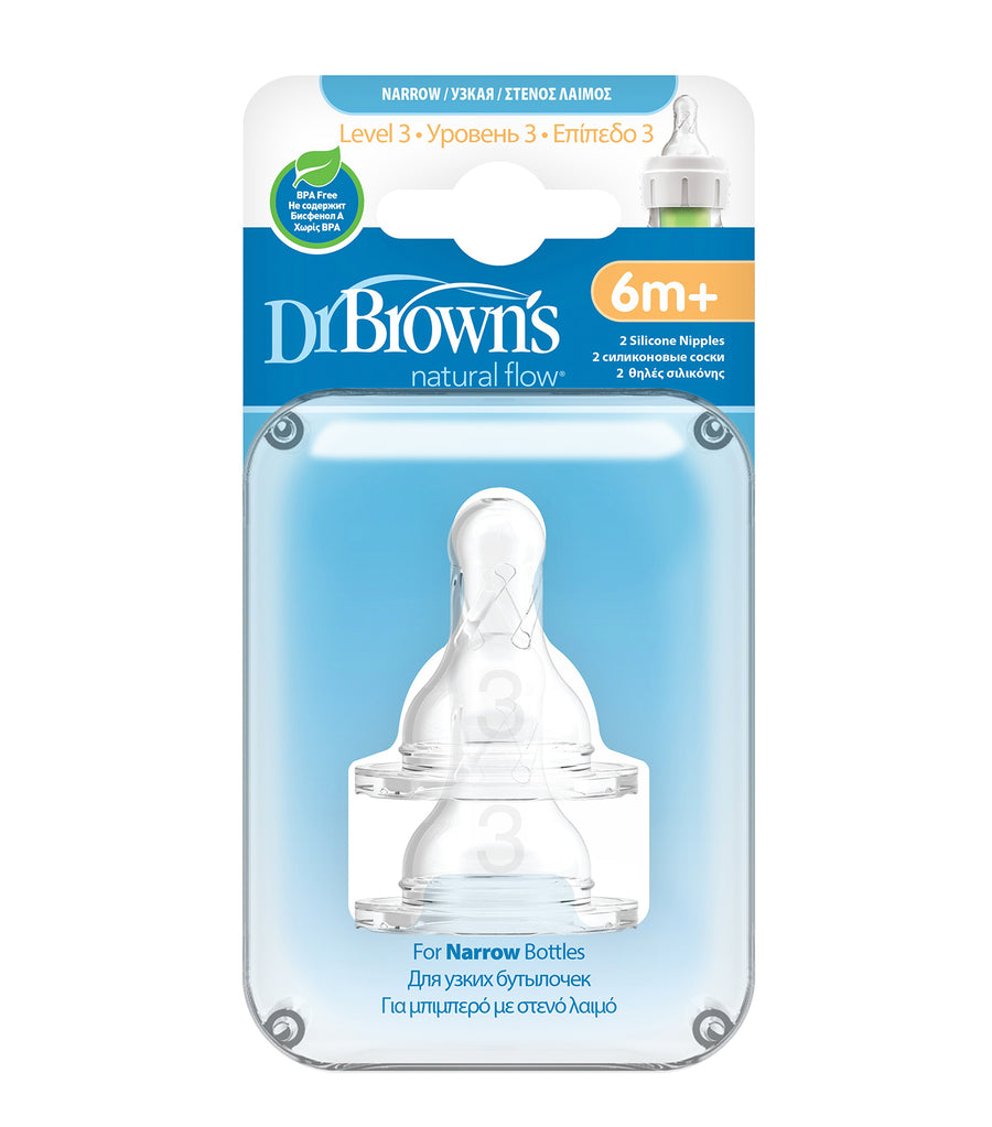 dr. brown's® level 3 narrow nipple