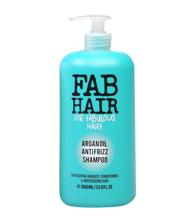 elle basic fab hair argan oil frizz shampoo