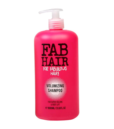 elle basic fab hair volumising shampoo