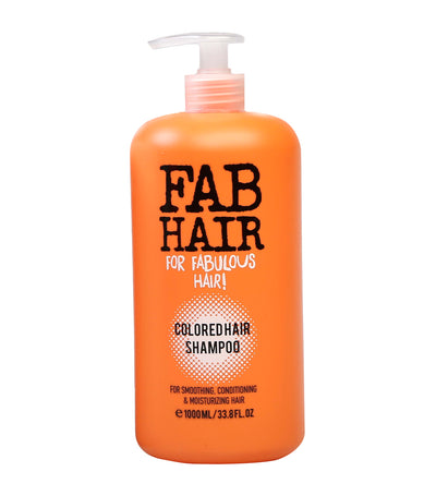 elle basic fab hair colored hair shampoo
