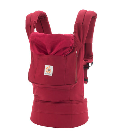 ergobaby red baby carrier