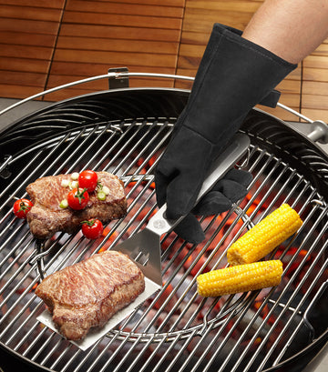 gefu barbecue leather gloves