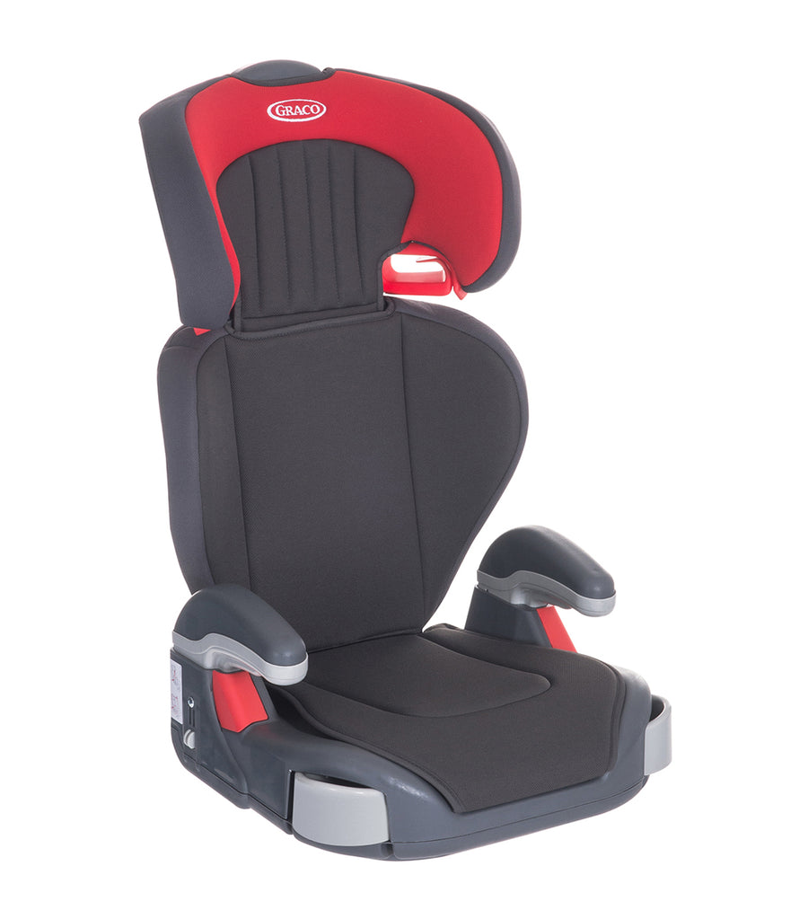 graco red junior maxi booster car seat