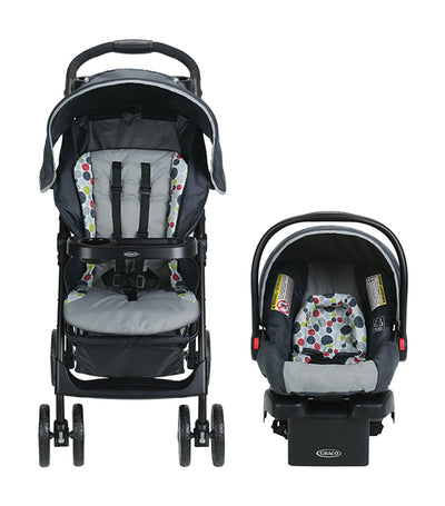 graco multicolor literider® lx travel system