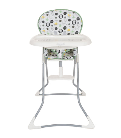 graco green tea time high chair