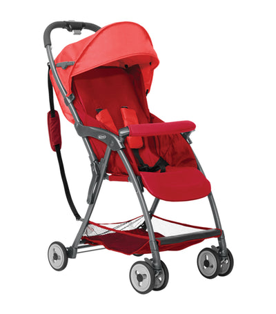 graco red featherweight stroller