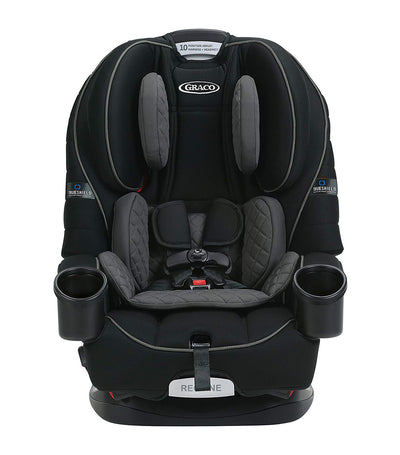 graco black 4ever® 4-in-1 car seat featuring trueshield technology
