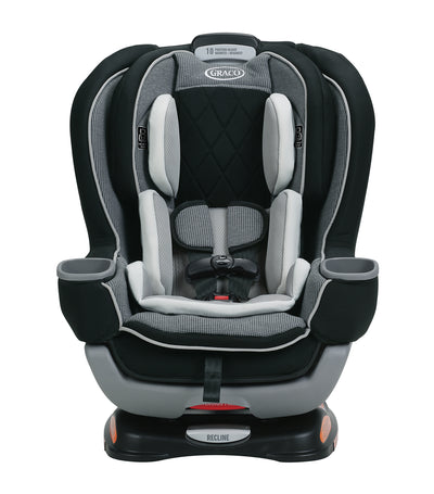 graco black extend2fit® platinum convertible car seat