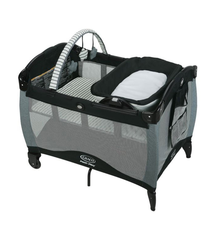 graco black pack 'n play® playard reversible napper and changer™ lx