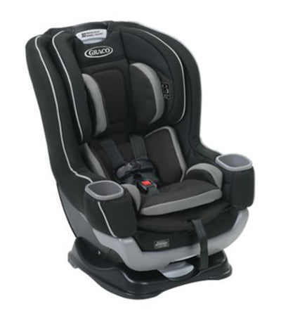 graco black extend2fit® convertible car seat rapidremove™