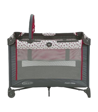 graco amory pack 'n play® on the go™ playard with folding bassinet