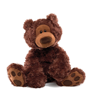 gun brown philbin chocolate bear - 12""