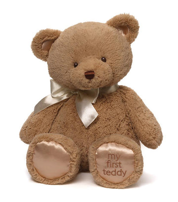 gund tan my first teddy - 10""
