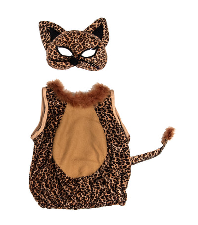 halloween girls leopard costume 3-5 years old