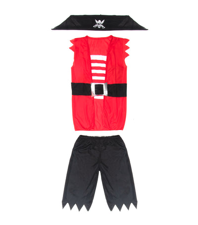 halloween boys pirate costume (6-9 years old)