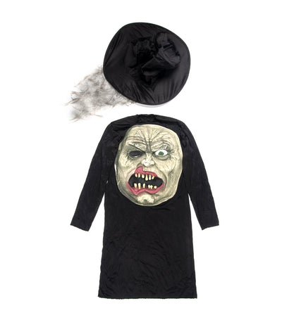 halloween child mad hatter ms. hyde zombie costume (free size)