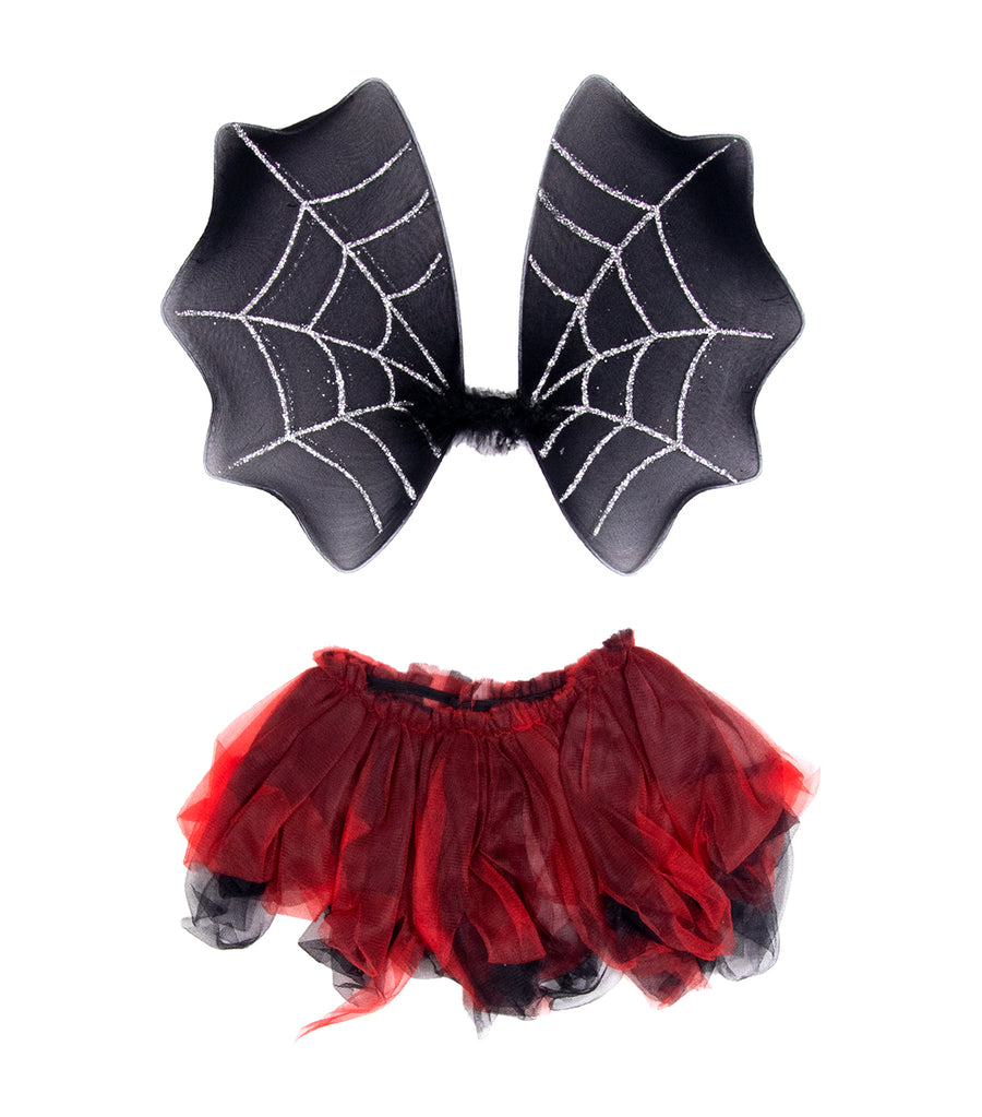 halloween fairy princess party bat wings set