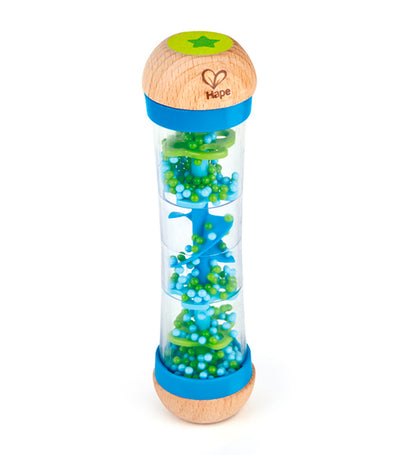 hape blue beaded raindrops